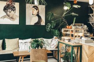 Wand groen schilderen