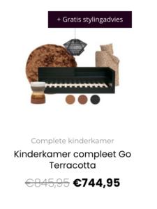Kinderkamer compleet Go Terracotta