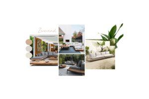 Zwevende loungeset
