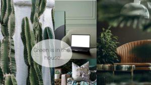Woontrend Green